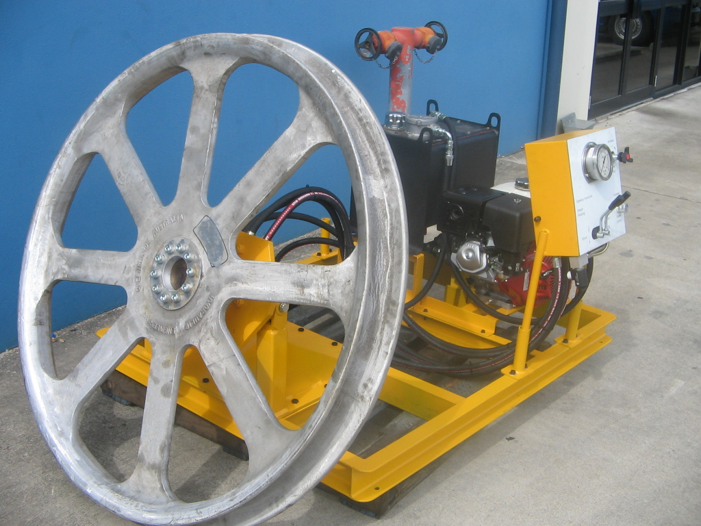 Fibre Optic Winch