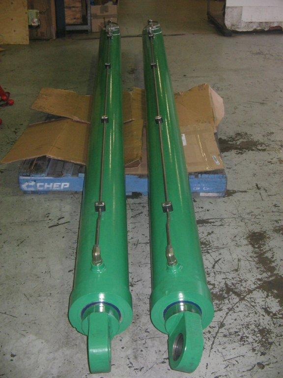green cylinder